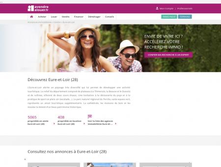 Immobilier Eure-et-Loir | Annonces...