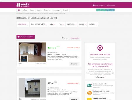 Location Maison Eure-et-Loir | Louer Maison...