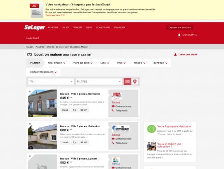Location de maisons Eure-et-Loir (28) | Louer...