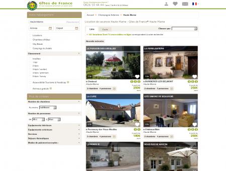 Location de vacances Haute-Marne - Gîtes de...
