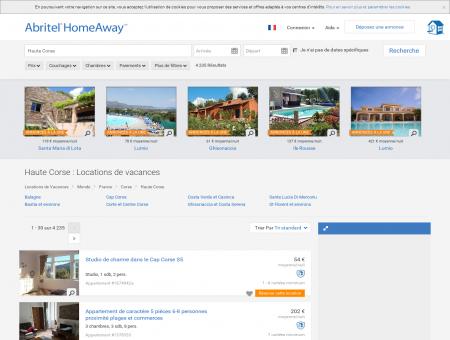 Location Vacances Haute Corse, Location...