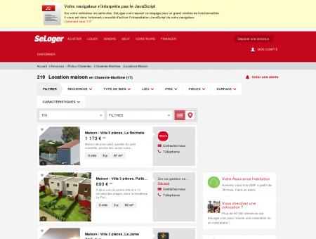 Location de maisons Charente-Maritime (17) |...