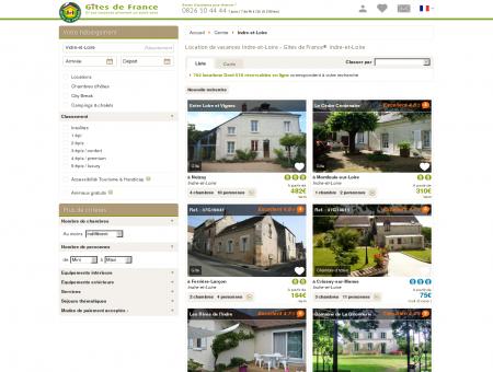Location de vacances Indre-et-Loire - Gîtes de...