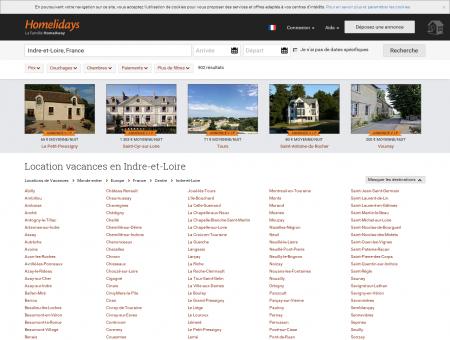 Location vacances en Indre-et-Loire : location ...