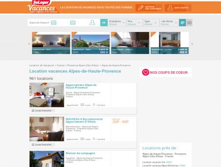 Location vacances Alpes-de-Haute-Provence,...