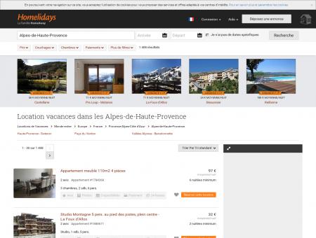 Location vacances dans les Alpes-de-Haute...
