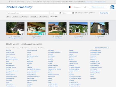 Location vacances Haute-Vienne : toutes les...