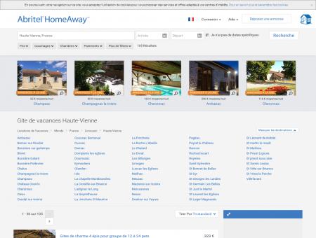 Haute-Vienne : location gite vacances | Abritel