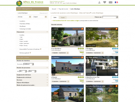 Location de vacances Loire-Atlantique - Gîtes...