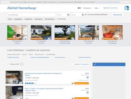 Location vacances à Loire-Atlantique : toutes...
