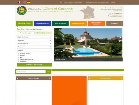 Gîtes de France Tarn-et-Garonne - Locations,...