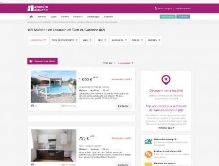 Location Maison Tarn-et-Garonne | Louer...