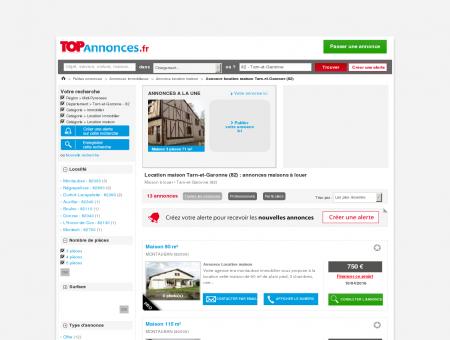 Location Maison, Villa Tarn-et-Garonne (82) :...