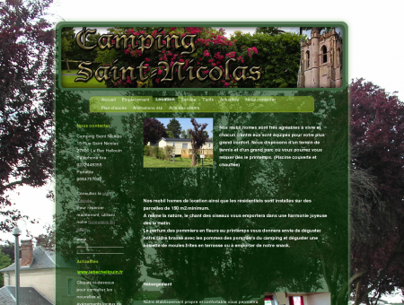 Camping Saint Nicolas - Location
