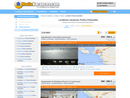LOCATIONS VACANCES POITOU-CHARENTES:...