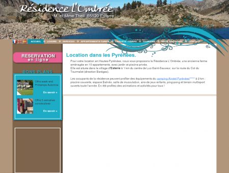 Location Hautes Pyrénées - LOCATION LUZ -...
