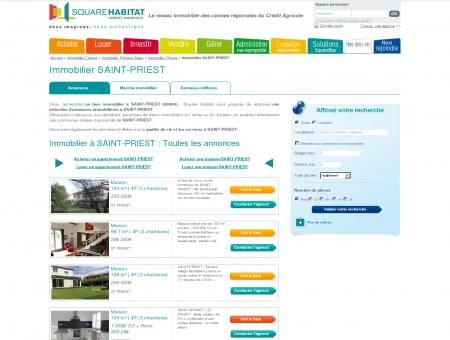 Immobilier SAINT-PRIEST 69800 : annonces...