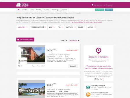 Location Appartement Saint Orens de...