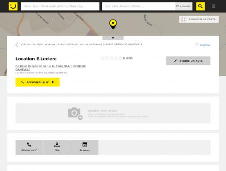Location E.Leclerc Saint Orens de Gameville...