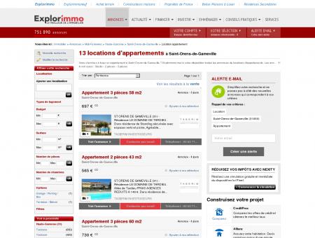 Location d'Appartements à Saint Orens de...