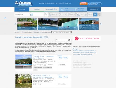 Location Vacances Saint-aubin - Locations...