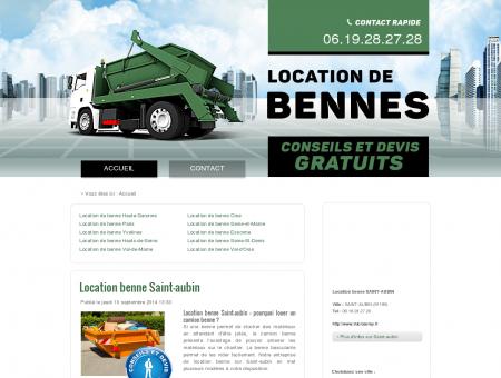 Location benne Saint-aubin - Tél :...