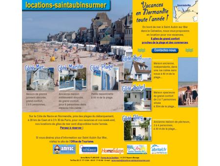 Location de maisons à Saint Aubin sur Mer...