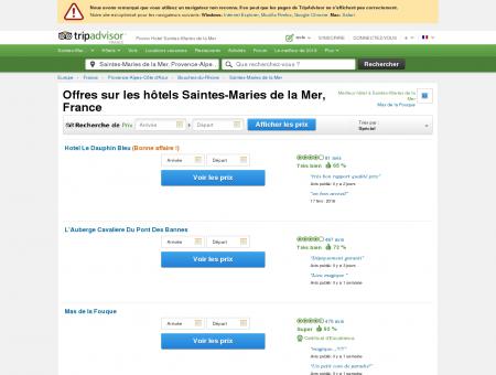 Location Saintes Marie - Quel est l'hôtel n°1...