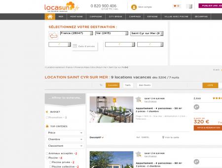LOCATION SAINT CYR SUR MER : 7 locations...