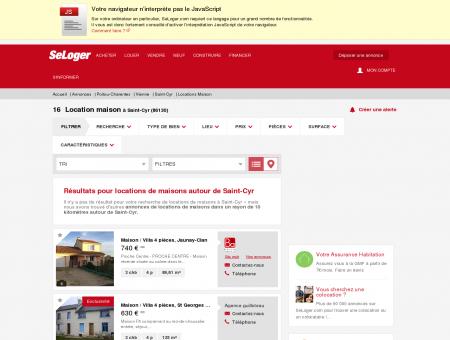 Location de maisons Saint-Cyr (86130) | Louer...