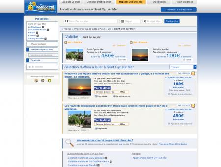 Location vacances Saint Cyr sur Mer :...