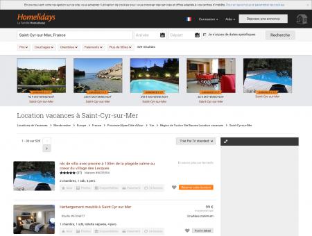 Location vacances à Saint-Cyr-sur-Mer :...