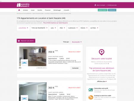 Location Appartement Saint Nazaire (44) |...
