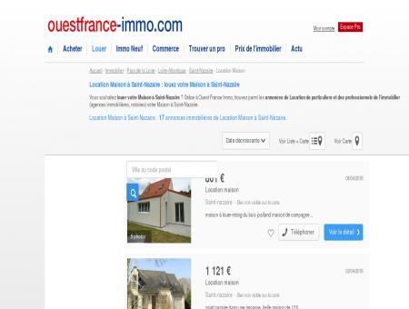 Location Maison à Saint-Nazaire : louez votre...