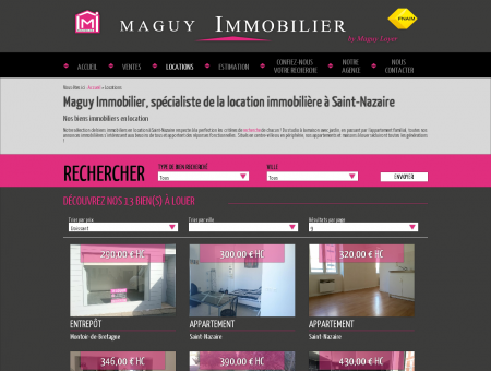 Location Saint Nazaire : location appartement...