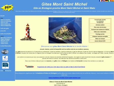 Gite Mont Saint Michel - Location de gites en...