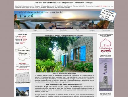 Gite Mont Saint Michel. Location vacances...