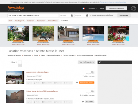 Locations de Vacances | Homelidays.com