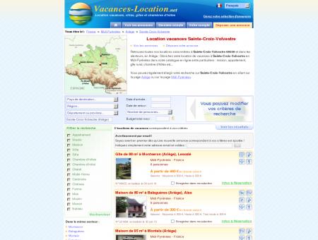 Location vacances Sainte-Croix-Volvestre...
