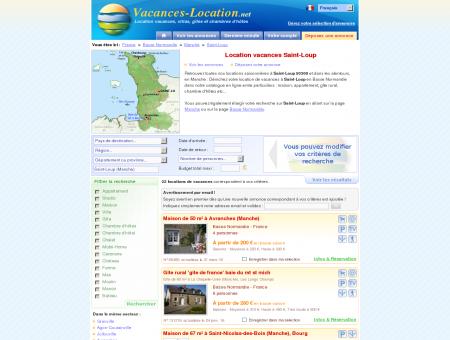 Location vacances Saint-Loup (50300) -...