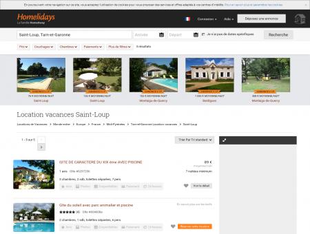 Location vacances Saint-Loup : location...
