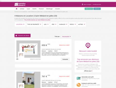 Location Maison Saint Médard en Jalles (33) |...
