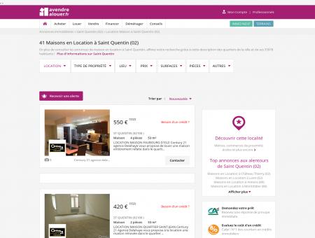Location Maison Saint Quentin (02) | Louer...
