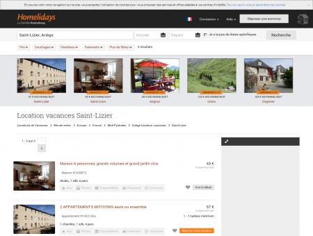 Location vacances Saint-Lizier : location...