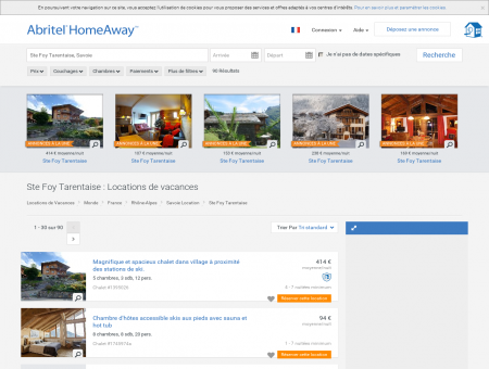 Location vacances Ste Foy Tarentaise : toutes...