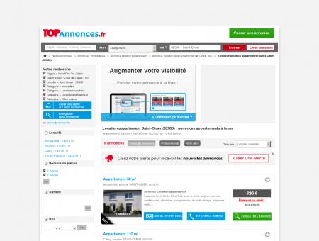 Location appartement Saint-Omer (62500) :...