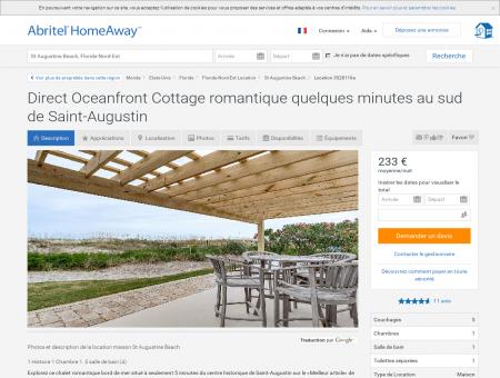 Direct Oceanfront Cottage romantique...