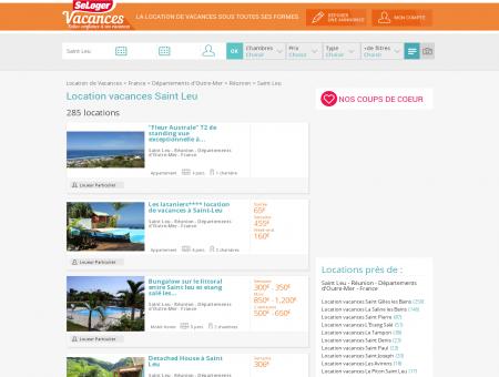 Location vacances Saint Leu 97416 (appart,...