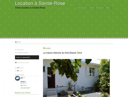 Location touristique à Sainte-Rose
