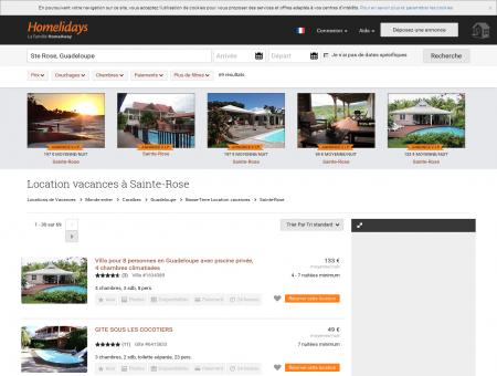 Location vacances à Sainte-Rose : location...